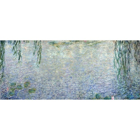 'Waterlillies Morning II' by Claude Monet Ready to Hang Canvas Wall Art - image 1 of 1