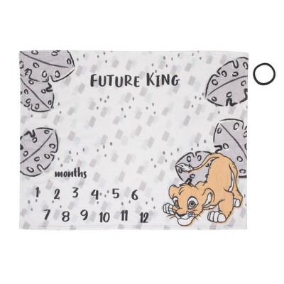 Disney Lion King Milestone Blanket