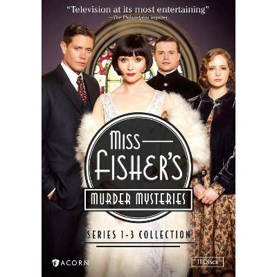 Miss Fisher's Murder Mysteries: Series 1-3 Collection (DVD)