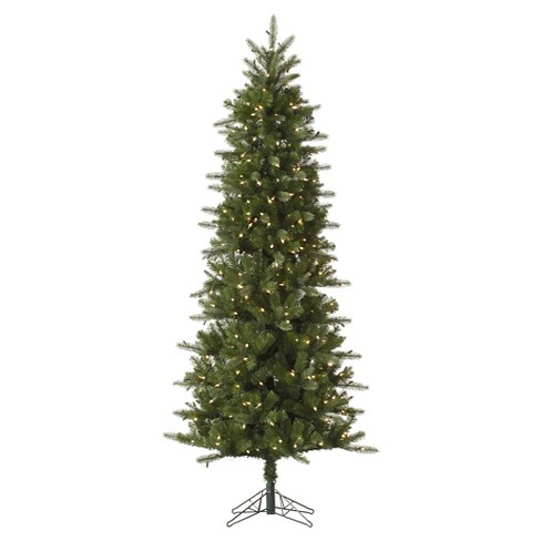 About this item - 7.5ft Pre-Lit Artificial Christmas Tree Slim... : Target