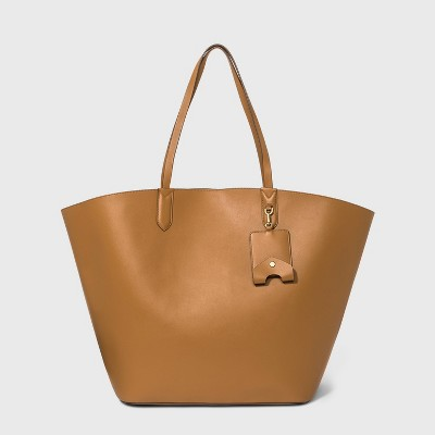 Oversized Fan Tote Handbag - A New Day™