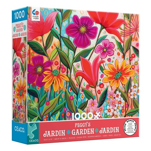Ceaco Peggy's Garden: Fanciful Jigsaw Puzzle - 1000pc - image 1 of 3