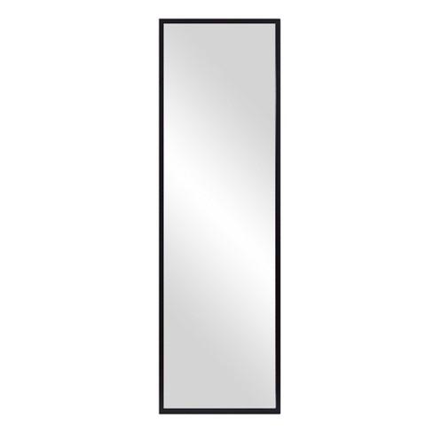 17 X59 Black Free Standing With, Adjustable Floor Stand Mirror