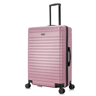 InUSA Deep 28'' Lightweight Hardside Spinner Suitcase - Rose Gold