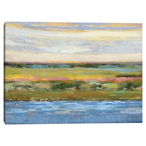 30 X 40 Flatland Contemplation By Mark Chandon Canvas Art Print Masterpiece Art Gallery Target