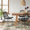 Linnet Rattan Dining Chair with Metal Legs - Opalhouse™ - image 2 of 4