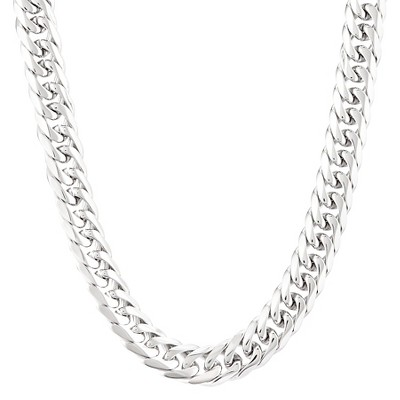 Crucible Stainless Steel Polished Curb Chain