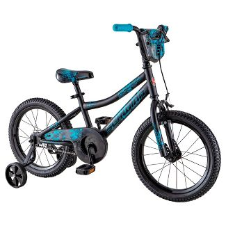 "Schwinn Flywheel 16"" Kids' Bike - Black"