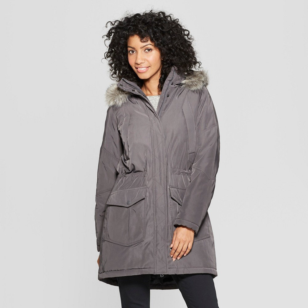 Women's Arctic Parka - A New Day Gray M