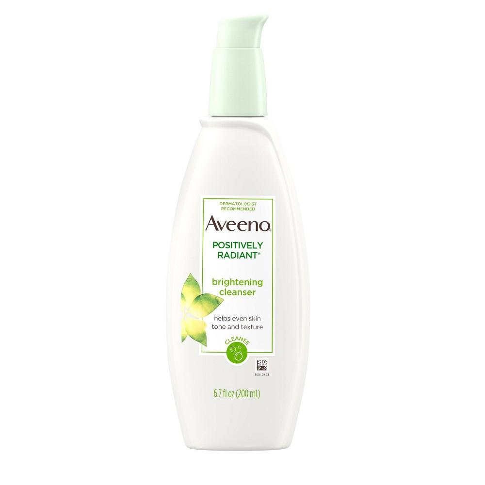 Aveeno Positively Radiant Brightening Cleanser- 6.7 fl oz