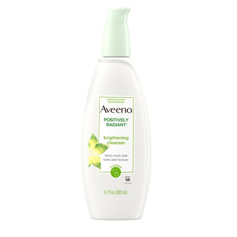 Aveeno Positively Radiant Brightening Cleanser- 6.7 fl oz - image 1 of 9