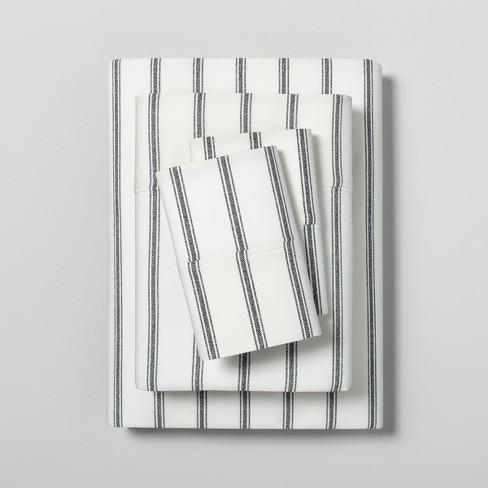 Sheet Set Organic Tic Stripe - Hearth & Hand™ with Magnolia - image 1 of 2