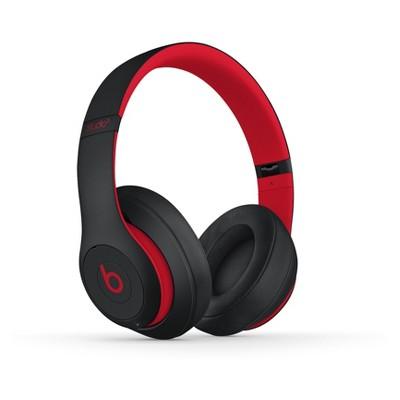 Beats Studio3 Decade Collection Wireless Over-Ear Headphones - Defiant Black-Red (MRQ82LL/A)