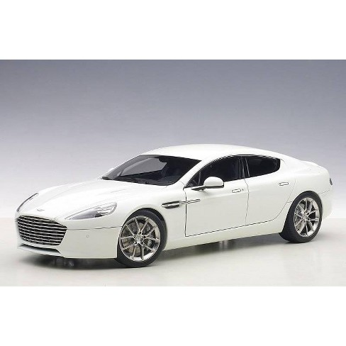 2015 Aston Martin Rapide S Stratus White 1/18 Diecast Model Car by Autoart - image 1 of 4