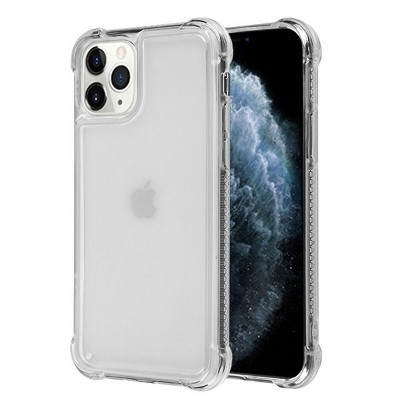 AIRIUM Sturdy Rubber Cover Case For Apple iPhone 11 Pro, Clear