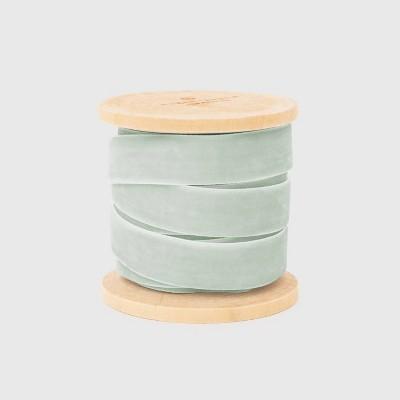 """5/8"""" Mint Velvet Ribbon - Sugar Paper™"""