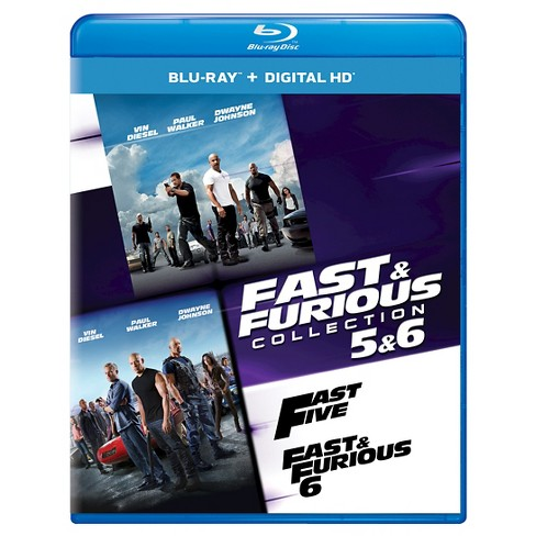 Fast & Furious Collection: 5 & 6 (Blu-ray) - image 1 of 1