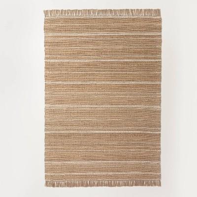 Jute Variegated Stripe Area Rug - Hearth & Hand™ with Magnolia