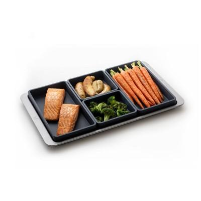 Prepd Cheat Sheets 4pc Silicone Modular Baking Sheet Pan Dividers