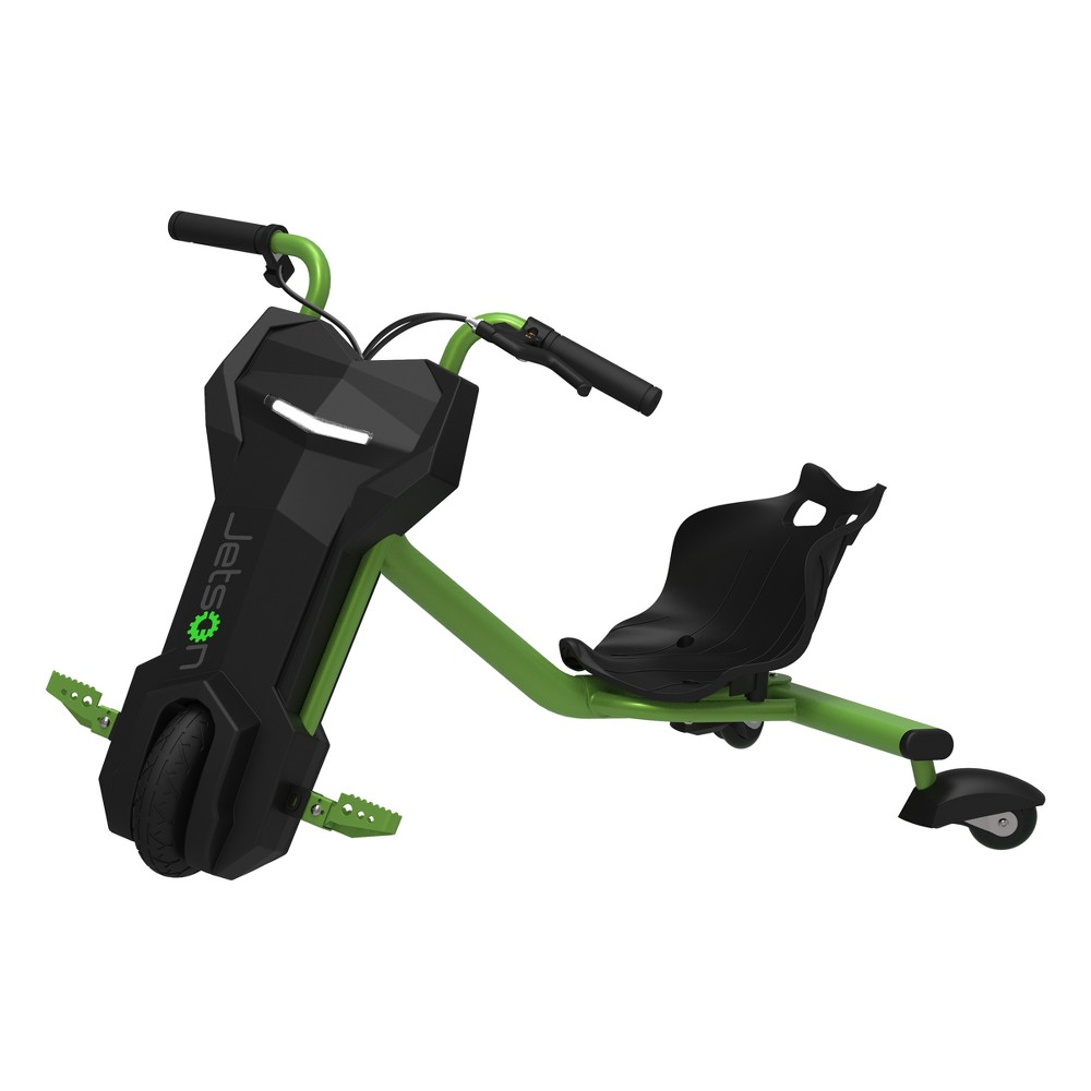 Jetson Drifter Electric Powered 360 Racer - Neon Green