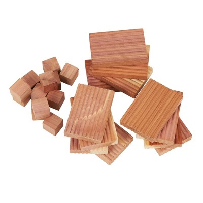 Household Essentials 24pc Cedar Value Pack For Drawers And Closets Natural