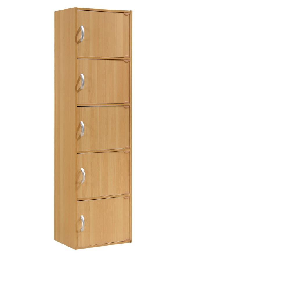 Image of Storage Cabinet Brown - Hodedah Import