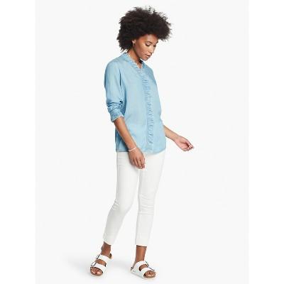 NIC+ZOE Women's All Day Garment Dye Denim Pant