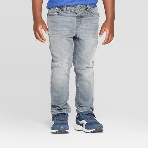 Toddler Boys' Skinny Jeans - Cat & Jack™ Gray - image 1 of 3
