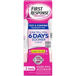 First Response Test & Confirm Pregnancy Test - 2ct