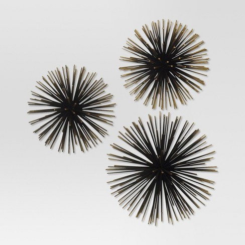 Sea Urchin Wall Décor Gold - Project 62™ - image 1 of 1