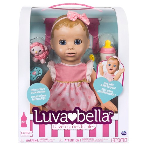1cdcba2d9 Luvabella Responsive Baby Doll With Realistic Expressions And ...