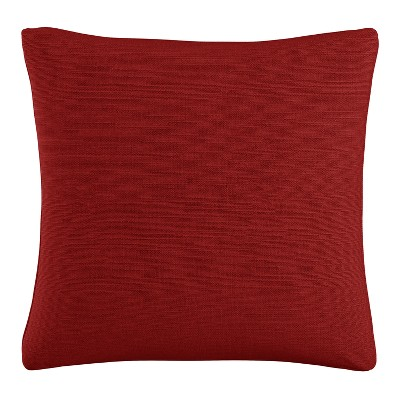 Red Solid Throw Pillow - Skyline Furniture