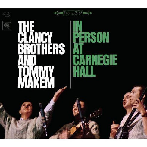 The Clancy Brothers - Clancy Brothers and Tommy Makem In Person at Carnegie Hall- The Complete 1963 - image 1 of 1