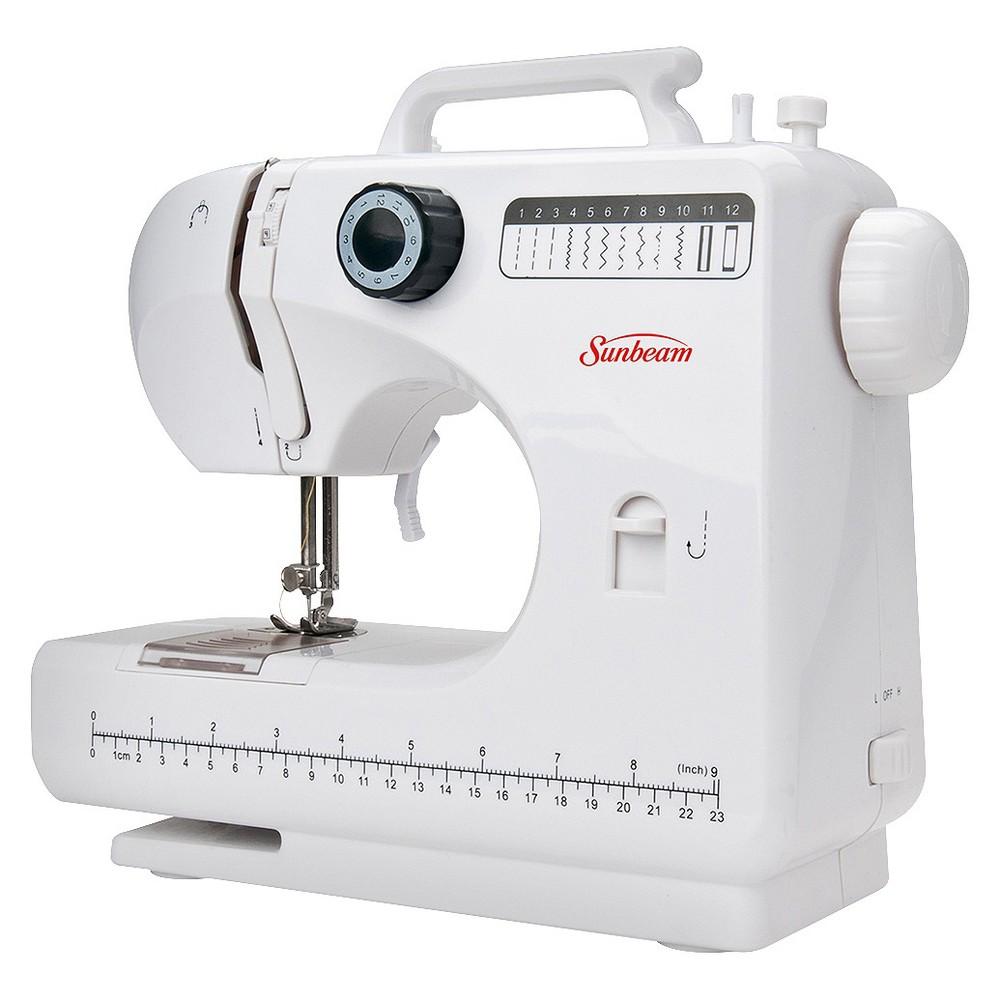Sunbeam Compact Sewing Machine, White