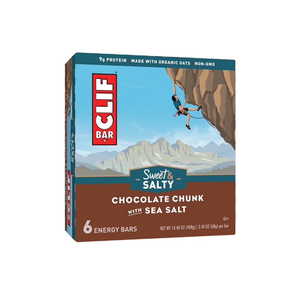Clif Bar Sweet & Salty Chocolate Chunk with Sea Salt Energy Bars - 14.4oz