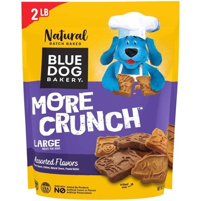 Blue Dog Bakery More Crunch Assorted Flavors Dry Dog Treats - 2lbs