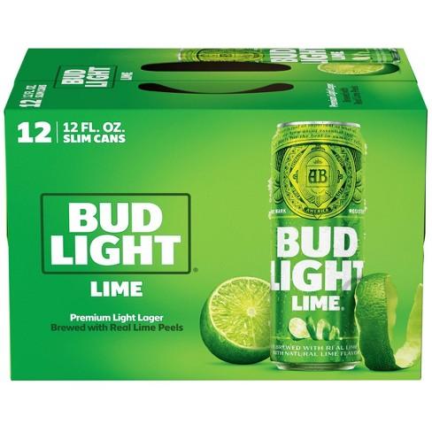 Bud Light Lime Beer - 12pk/12 fl oz Cans - image 1 of 1