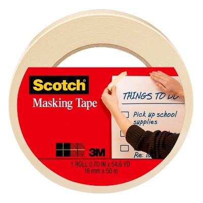 Scotch Masking Tape 1ct 54yd