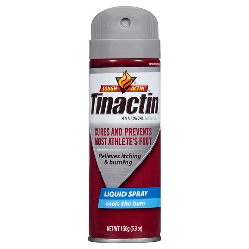 Tinactin Tolnaftate Antifungal Liquid Spray – 5.3oz - image 1 of 4