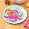 Zak Designs Kids 5-Piece Dinnerware Set Durable Melamine Plate Bowl Tumbler Stainless Steel Fork Spoon BPA-Free - image 4 of 4