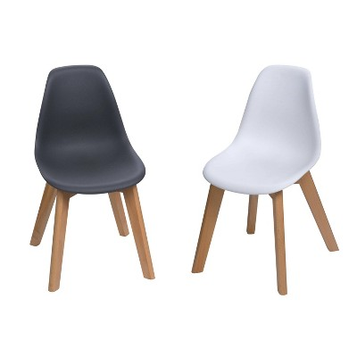Set of 2 Kids' Chairs with Beech Legs - Gift Mark