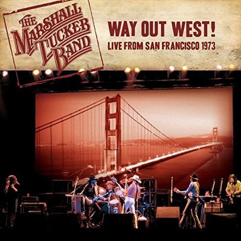 Marshall Tucker Band - Way Out West Live From San Francisco (CD) - image 1 of 1