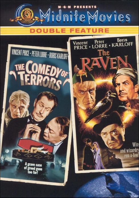 Comedy of terrors/Raven (DVD) - image 1 of 1