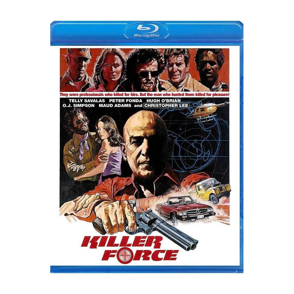 Killer Force Aka The Diamond Mercenar (Blu-ray)