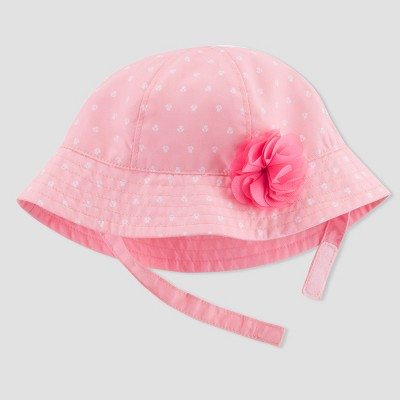 Baby Girls' Polka Dot Hat - Just One You® made by carter's Pink 0-6M