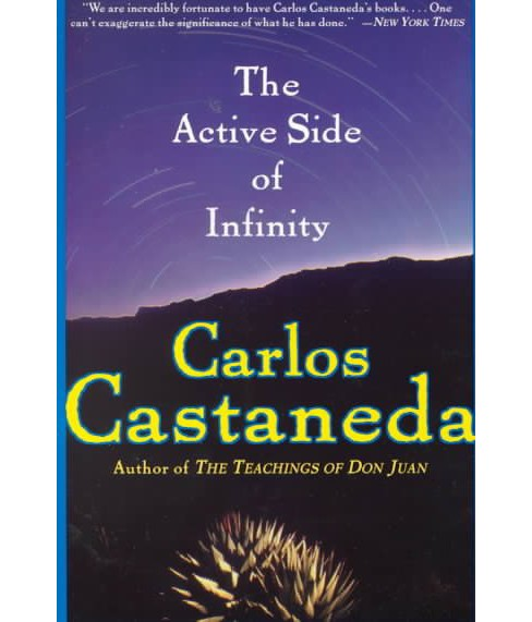 Active Side of Infinity -  by Carlos Castaneda (Paperback) - image 1 of 1