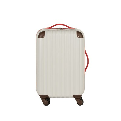 "Love Taza 20"" Hardside Spinner Suitcase   Cream by Shop This Collection"