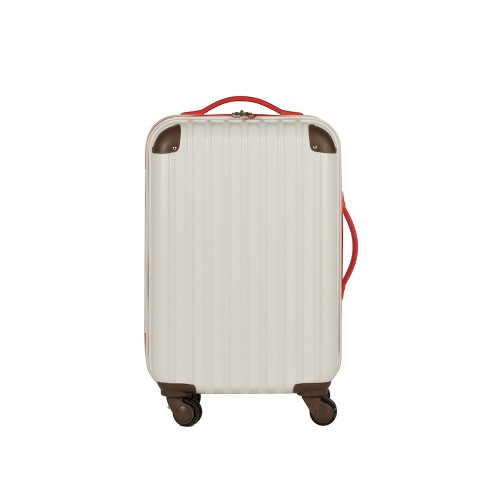 "Love Taza 20"" Hardside Spinner Suitcase - Cream - image 1 of 7"