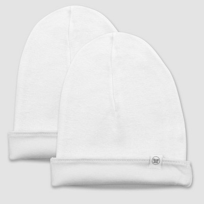 Honest Baby 2pk Organic Cotton Reversible Hat