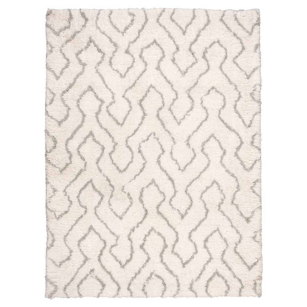 Waverly Galway Area Rug - Ivory/Sage (Ivory/Green) (7'6